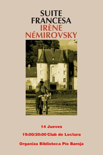 """Club de lectura, libro: """"Suite francesa"""""""