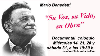 documental benedetti NuevaAcropolisBilbao