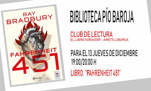 Club de lectura. Libro: