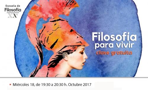 FILOSOFÍA PARA VIVIR clase gratuita