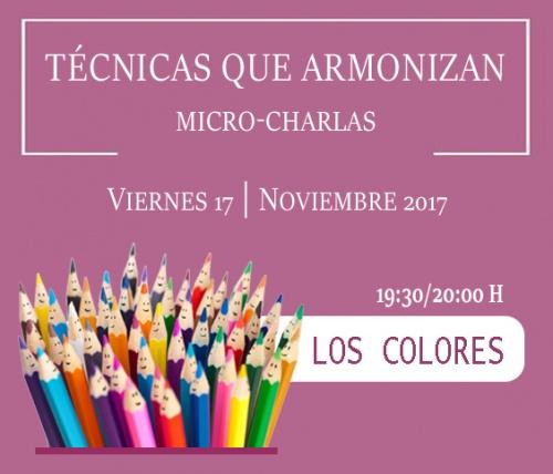 Técnicas que armonizan: Los Colores