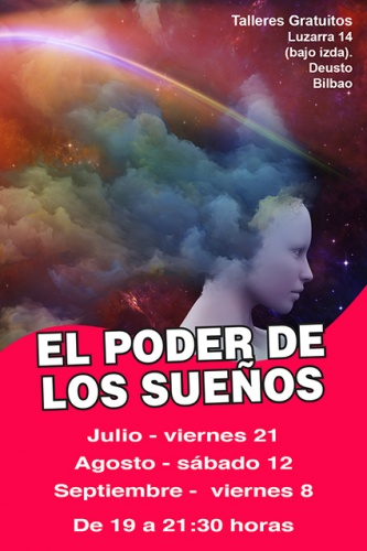 Taller gratuito de EL PODER DE LOS SUEÑOS